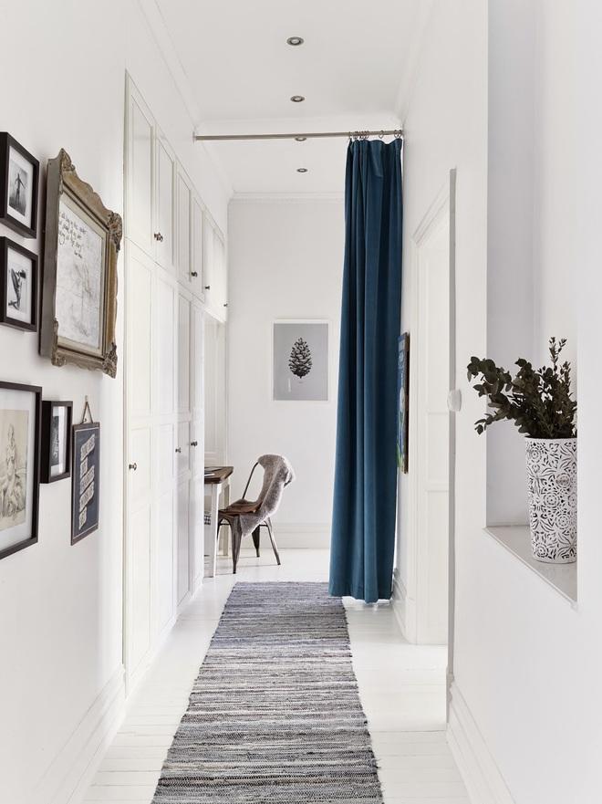 Nhà diện tích nhỏ bỗng rộng thênh thang nhờ 20 cách sử dụng rèm phân cách - Ảnh 15.