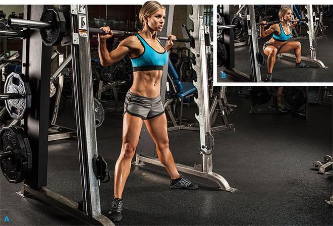 Huấn luyện viên chỉ ra sự thật khi tập squat trên máy Smith, ai đang tập squat cùng dụng cụ này hãy cân nhắc - Ảnh 3.