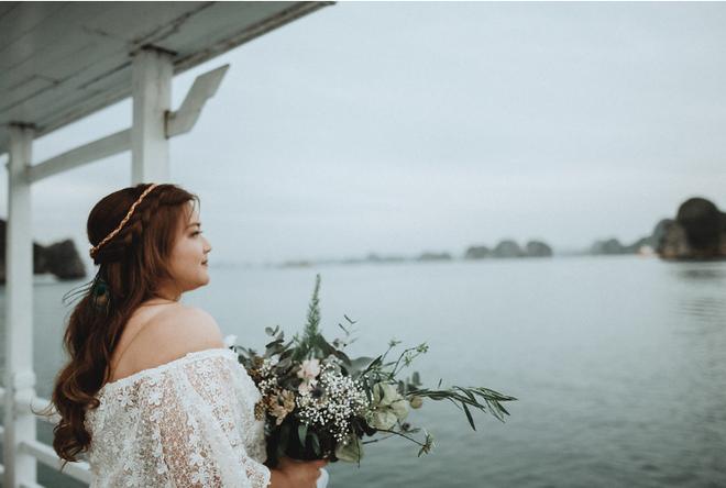 Đám cưới du thuyền đẹp mơ màng giữa sóng nước Hạ Long của cô dâu Philippines không ngại chủ động tìm kiếm tình yêu - Ảnh 8.