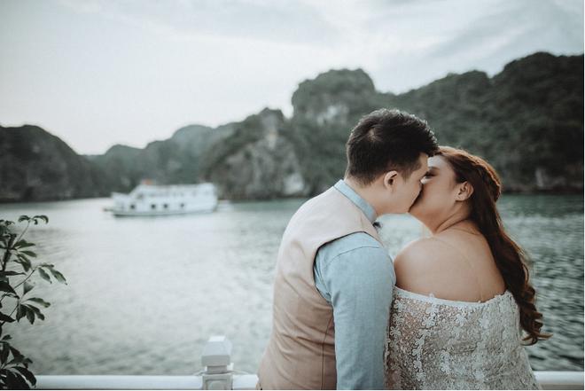 Đám cưới du thuyền đẹp mơ màng giữa sóng nước Hạ Long của cô dâu Philippines không ngại chủ động tìm kiếm tình yêu - Ảnh 3.