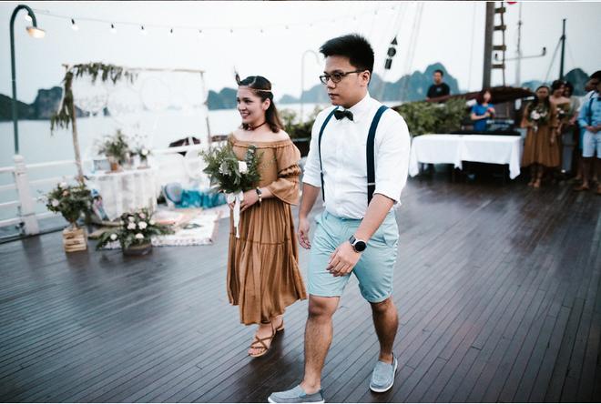 Đám cưới du thuyền đẹp mơ màng giữa sóng nước Hạ Long của cô dâu Philippines không ngại chủ động tìm kiếm tình yêu - Ảnh 9.