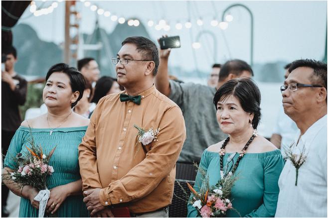 Đám cưới du thuyền đẹp mơ màng giữa sóng nước Hạ Long của cô dâu Philippines không ngại chủ động tìm kiếm tình yêu - Ảnh 13.