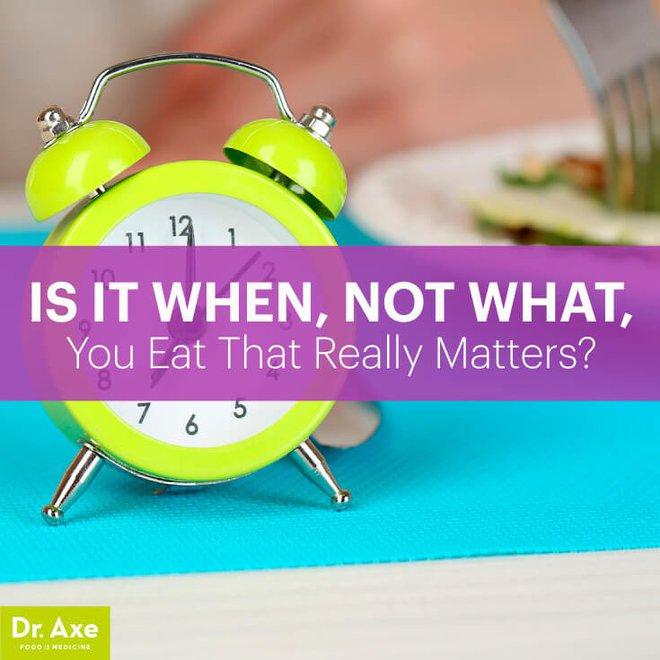 Không phải những gì bạn ăn, thời gian ăn uống mới là yếu tố giúp bạn không tăng cân - Ảnh 4.