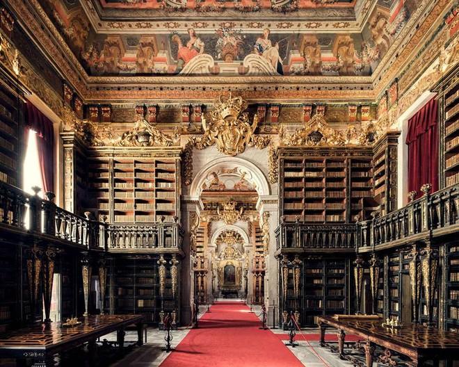 Ghé thăm những thư viện đẹp lung linh huyền bí như lâu đài trong truyện cổ tích - ảnh 7