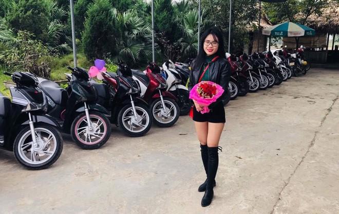 Chàng trai Nam Định điều động 29 xe SH tỏ tình cô gái khóa dưới cưa cẩm suốt 1 năm - Ảnh 3.