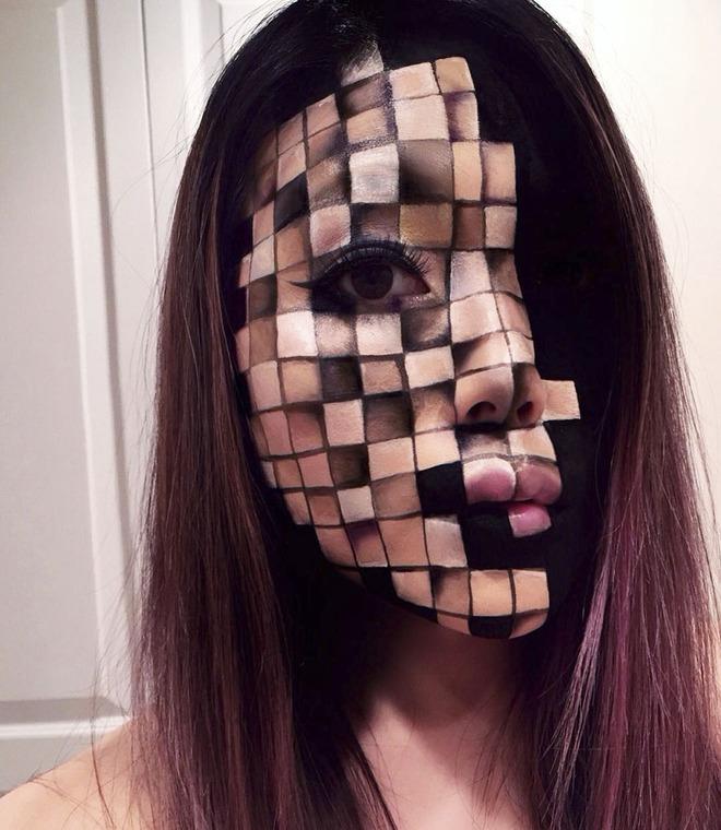 Cô gái chuyên cắt mặt thành nhiều khúc ai nhìn vào cũng hoảng sợ - Ảnh 6.