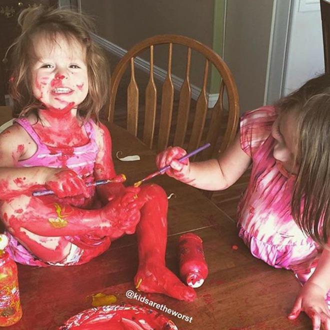 28 thảm cảnh dở khóc dở cười bố mẹ được chứng kiến sau khi để lũ trẻ ở nhà một mình - Ảnh 26.
