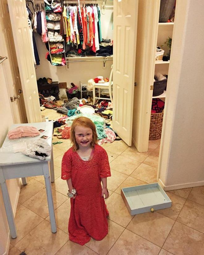 28 thảm cảnh dở khóc dở cười bố mẹ được chứng kiến sau khi để lũ trẻ ở nhà một mình - Ảnh 15.