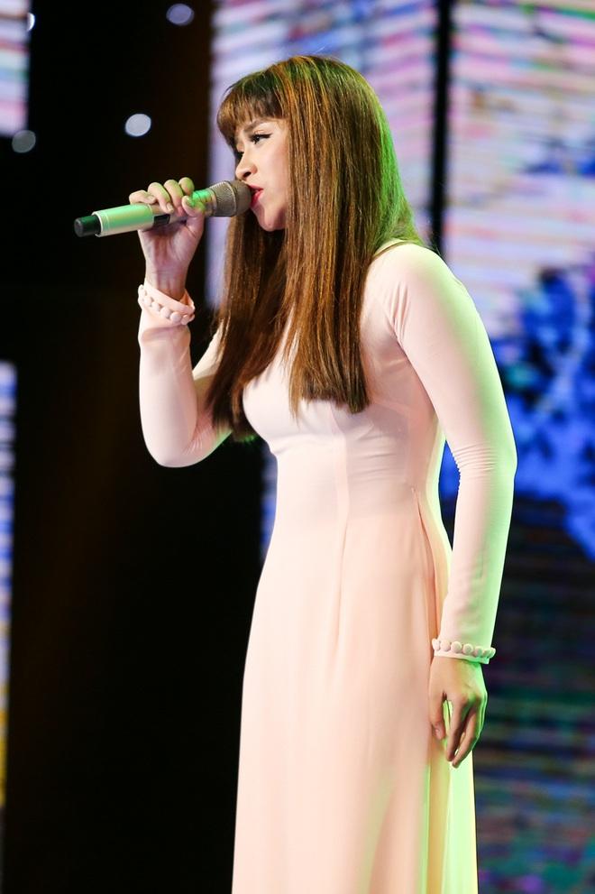 Giảm cân thần tốc, gái xinh đội Đàm Vĩnh Hưng khiến Quang Lê xuýt xoa - Ảnh 1.
