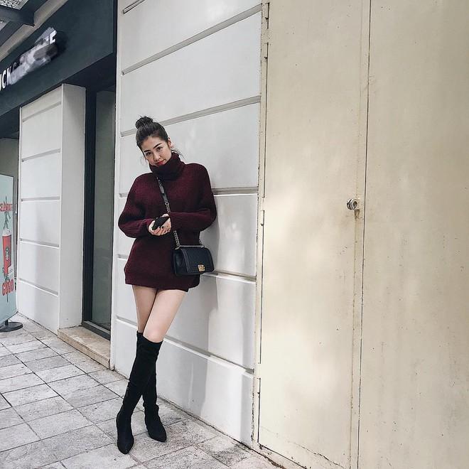 Lấn át hết mọi loại khác, boots cao đến đầu gối trở thành món đồ được diện nhiều nhất trong mùa đông năm nay - Ảnh 7.