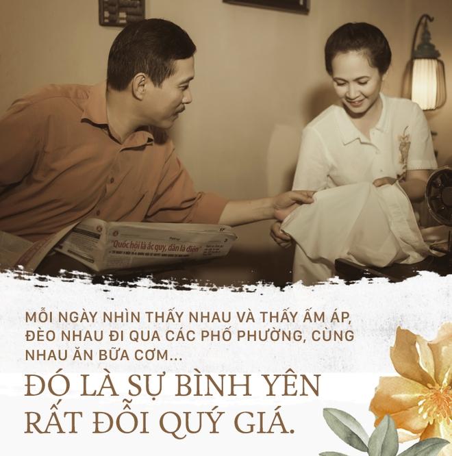 Vợ chồng nghệ sĩ Lan Hương & Đỗ Kỷ: Cuộc hôn nhân 30 năm gói gọn trong hai chữ Bình yên - Ảnh 3.