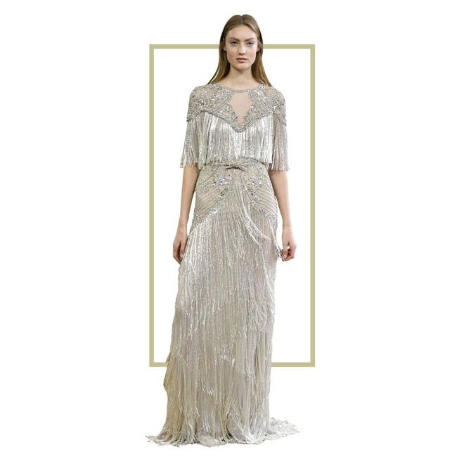 Có gì ở chiếc váy đính tới 12.000 sợi tua rua của Monique Lhuillier? - Ảnh 6.