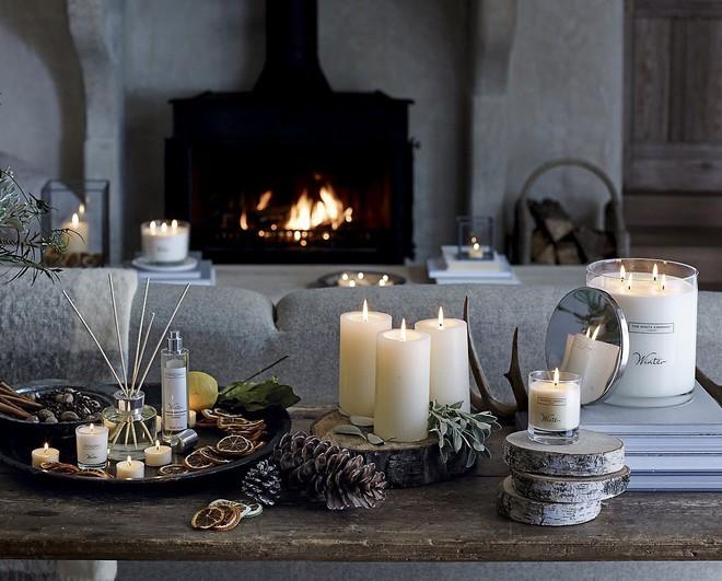 Chọn nến thơm thiên nhiên cho gian phòng ấm áp hơn trong những ngày Giáng sinh sắp tới - Ảnh 1.