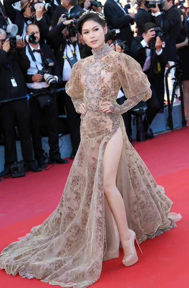 Hồng Ánh, Ngọc Thanh Tâm xuất hiện rực rỡ tại LHP Cannes 2017 - Ảnh 4.