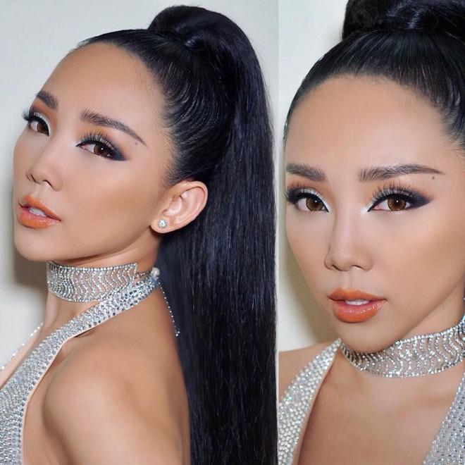 Cả showbiz Việt bây giờ toàn chạy theo phong cách trang điểm mắt đậm môi tều giống Kylie Jenner - Ảnh 16.