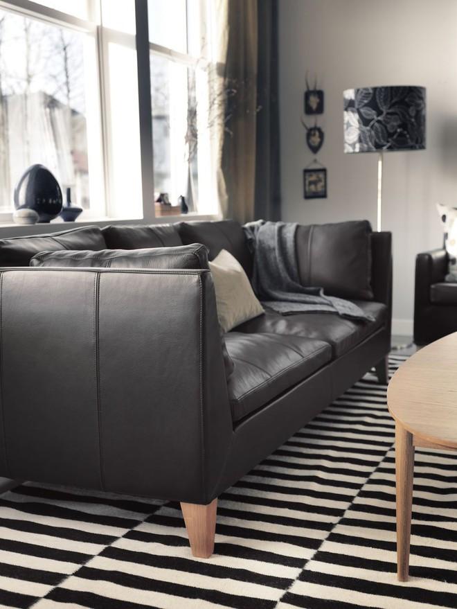 Những ý tưởng sử dụng ghế sofa Stockholm trong phòng khách cực ấn tượng   - Ảnh 1.