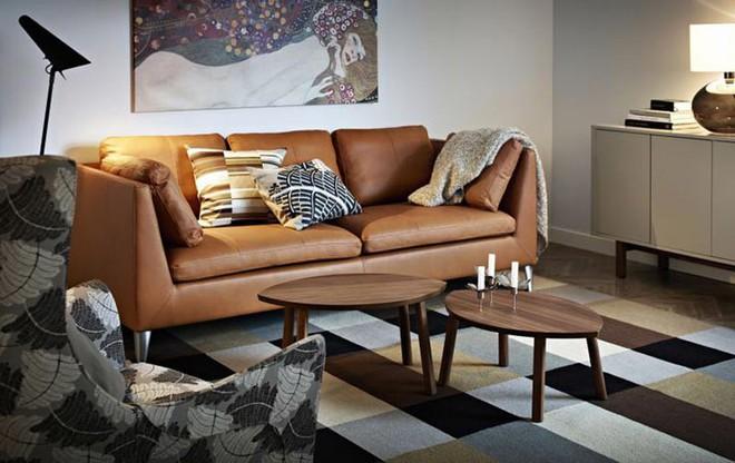 Những ý tưởng sử dụng ghế sofa Stockholm trong phòng khách cực ấn tượng   - Ảnh 6.