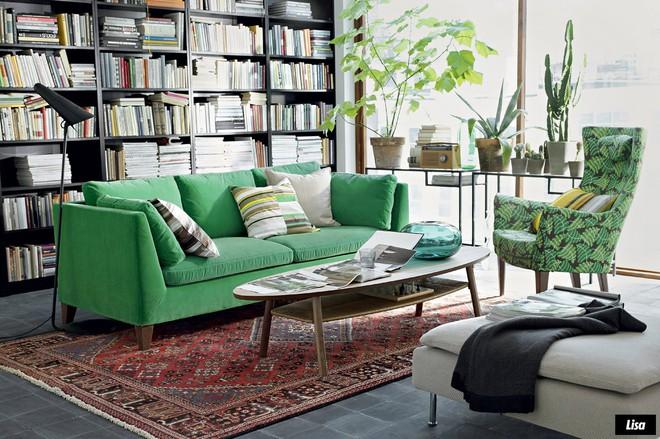 Những ý tưởng sử dụng ghế sofa Stockholm trong phòng khách cực ấn tượng   - Ảnh 19.