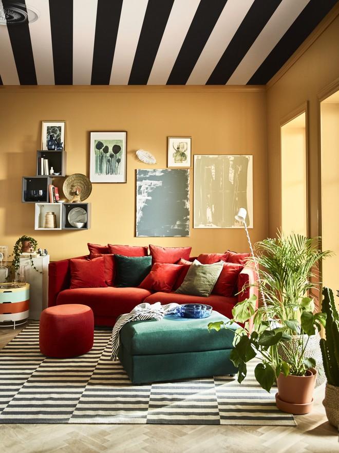 Những ý tưởng sử dụng ghế sofa Stockholm trong phòng khách cực ấn tượng   - Ảnh 10.