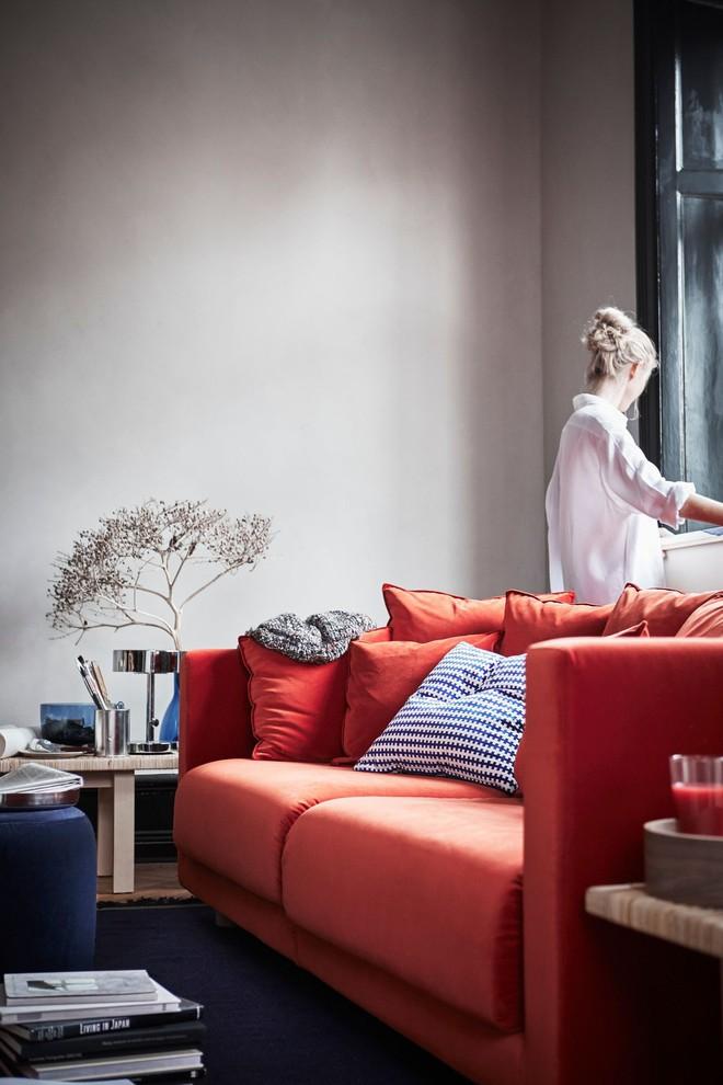 Những ý tưởng sử dụng ghế sofa Stockholm trong phòng khách cực ấn tượng   - Ảnh 17.