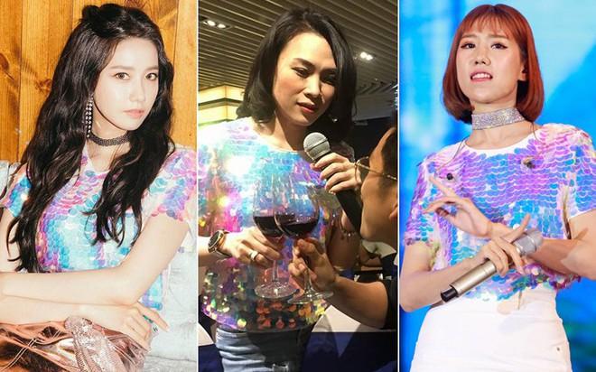 Trẻ trung lại vui tính, chị Mỹ Tâm xào rau có đụng hàng với Min và Yoona cũng là lẽ thường - Ảnh 7.