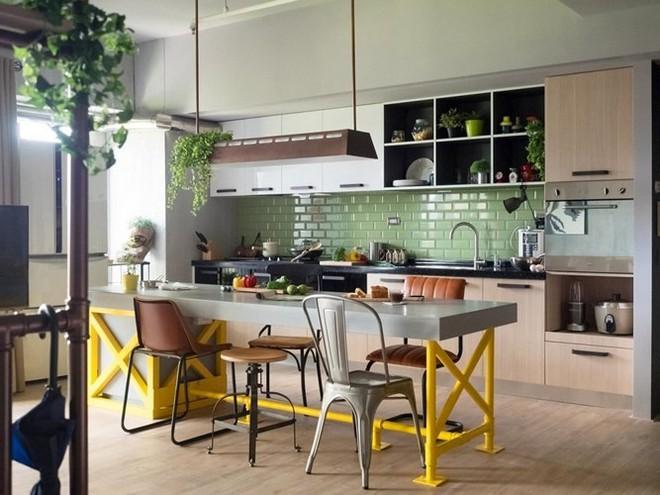 Thiết kế căn hộ 122m2 có phòng bếp lớn - Ảnh 2.