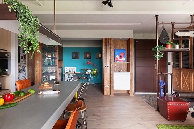 Thiết kế căn hộ 122m2 có phòng bếp lớn - Ảnh 5.