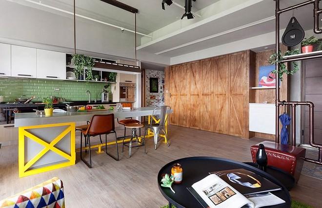 Thiết kế căn hộ 122m2 có phòng bếp lớn - Ảnh 6.