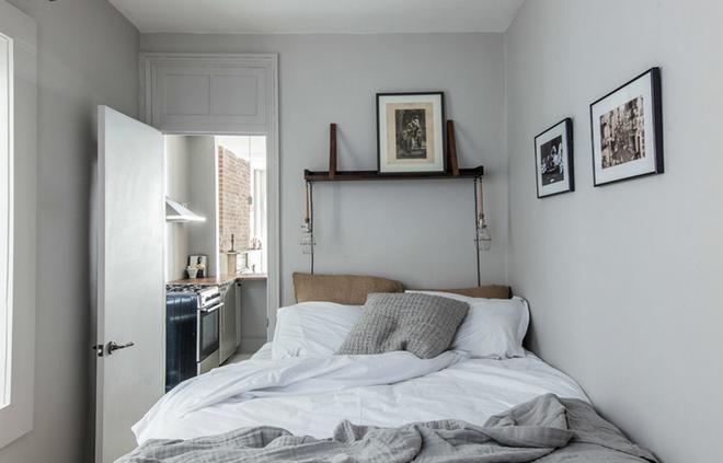 10 ý tưởng giúp phòng ngủ có diện tích nhỏ hẹp trở nên rộng đến bất ngờ - Ảnh 2.