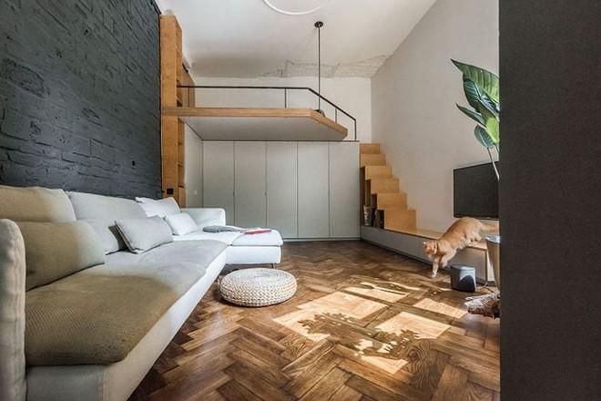 Căn hộ chung cư 35 m2 có gác lửng khiến nhiều người thích mê - Ảnh 6.