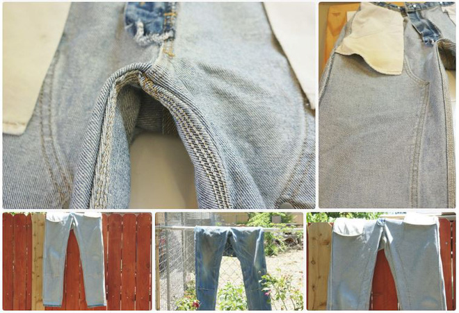 Nghe lời người lạ cho quần jeans vào ngăn đá, chàng trai ngạc nhiên với kết quả sau đó - Ảnh 2.