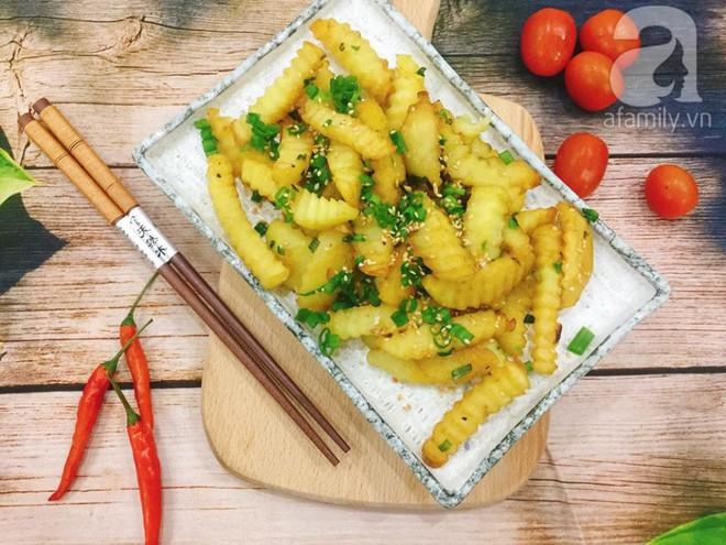 Thêm một biến tấu ngon lạ cho món khoai tây chiên quen thuộc - Ảnh 7.