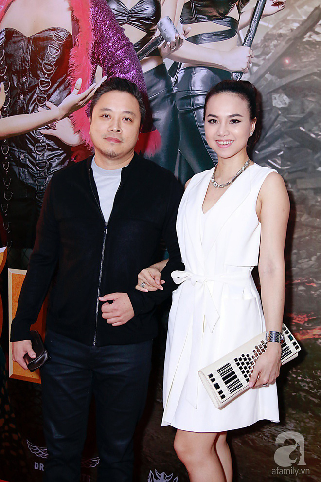Đôi công chúa nhà Dustin Nguyễn đáng yêu hết mực bên bố mẹ trong họp báo - Ảnh 16.