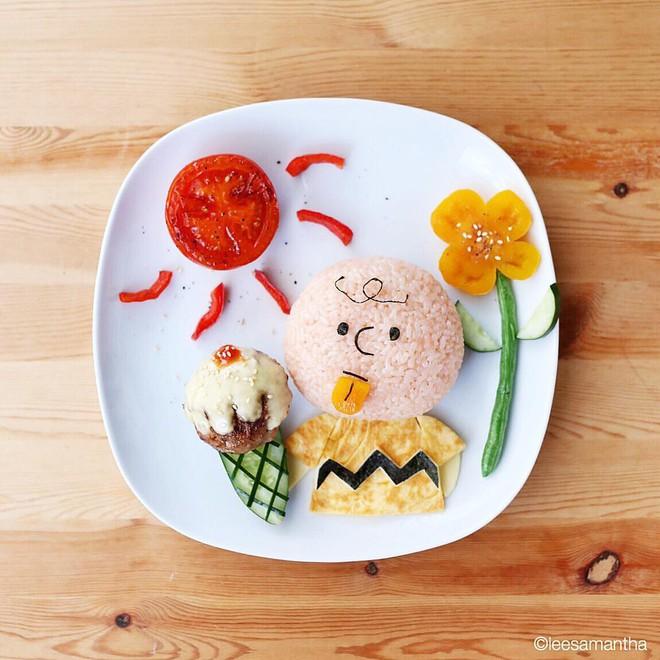 Để con hết kén ăn, bà mẹ khéo tay đã biến bữa ăn thành kiệt tác nghệ thuật - Ảnh 3.