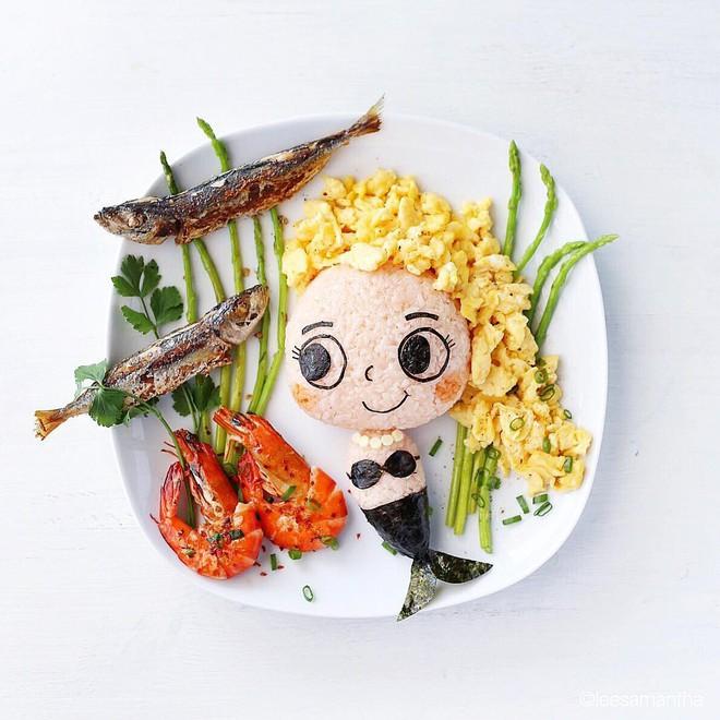 Để con hết kén ăn, bà mẹ khéo tay đã biến bữa ăn thành kiệt tác nghệ thuật - Ảnh 10.