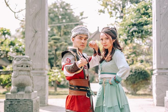 Ưng Hoàng Phúc và vợ gây thích thú khi hóa... Quách Tĩnh - Hoàng Dung trong bộ ảnh cổ trang - Ảnh 7.