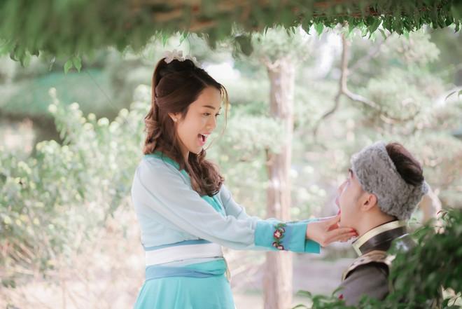 Ưng Hoàng Phúc và vợ gây thích thú khi hóa... Quách Tĩnh - Hoàng Dung trong bộ ảnh cổ trang - Ảnh 6.