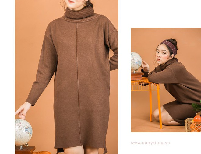 Tết này dự báo trời lạnh, và đây là những mẫu váy len vừa đẹp vừa ấm dành cho các nàng - Ảnh 12.