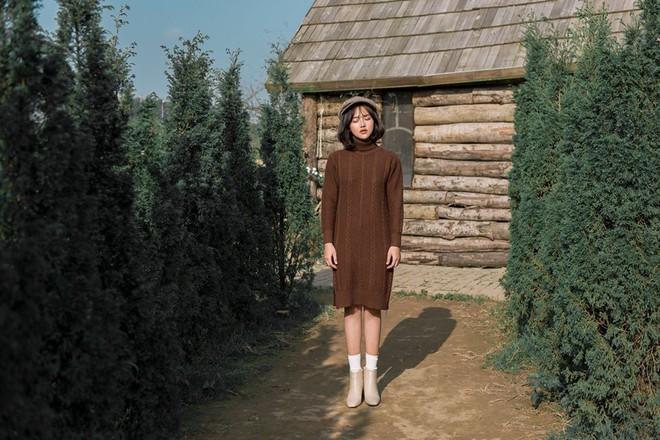 Tết này dự báo trời lạnh, và đây là những mẫu váy len vừa đẹp vừa ấm dành cho các nàng - Ảnh 15.