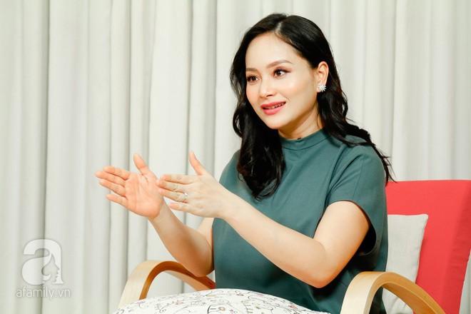 Lan Phương: Có bầu 5 tháng, bố mẹ tôi vẫn hỏi đến khi nào mới làm đám cưới  - Ảnh 2.