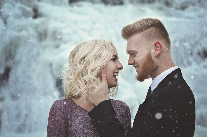 Những cô dâu vai trần thách thức thời tiết giá lạnh để có bộ ảnh cưới nghìn like - Ảnh 19.