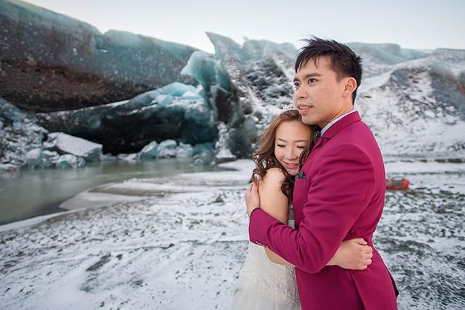 Những cô dâu vai trần thách thức thời tiết giá lạnh để có bộ ảnh cưới nghìn like - Ảnh 24.