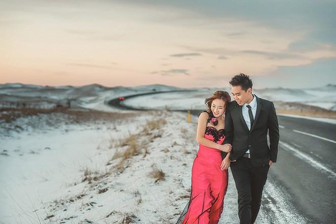 Những cô dâu vai trần thách thức thời tiết giá lạnh để có bộ ảnh cưới nghìn like - Ảnh 25.