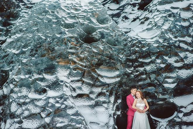 Những cô dâu vai trần thách thức thời tiết giá lạnh để có bộ ảnh cưới nghìn like - Ảnh 26.