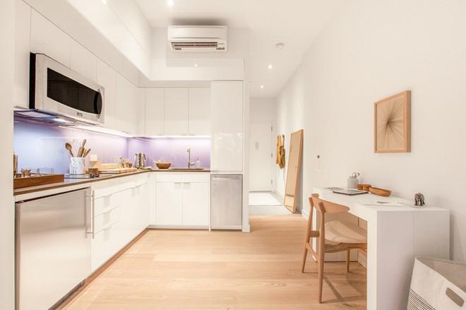 Diện tích chỉ khoảng 25m², căn hộ này đã khiến cho nhiều người không khỏi ngỡ ngàng vì sự tiện nghi của nó - Ảnh 5.