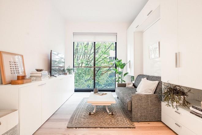Diện tích chỉ khoảng 25m², căn hộ này đã khiến cho nhiều người không khỏi ngỡ ngàng vì sự tiện nghi của nó - Ảnh 2.