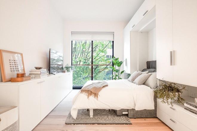 Diện tích chỉ khoảng 25m², căn hộ này đã khiến cho nhiều người không khỏi ngỡ ngàng vì sự tiện nghi của nó - Ảnh 3.