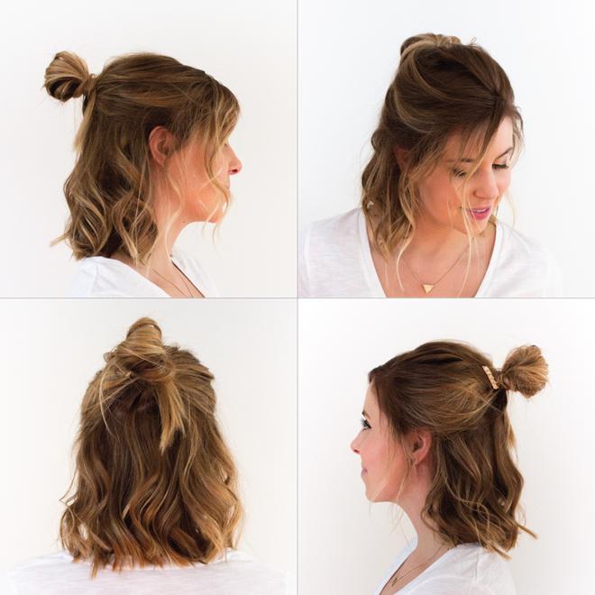 Tự tin giấu tóc bết dầu nhờ những kiểu tóc siêu đẹp và đơn giản trong dịp Tết - Ảnh 6.