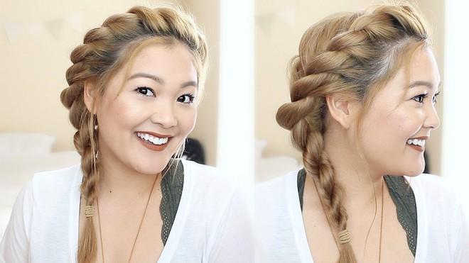 Tự tin giấu tóc bết dầu nhờ những kiểu tóc siêu đẹp và đơn giản trong dịp Tết - Ảnh 11.