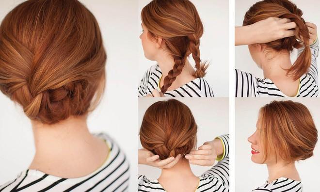 Tự tin giấu tóc bết dầu nhờ những kiểu tóc siêu đẹp và đơn giản trong dịp Tết - Ảnh 13.